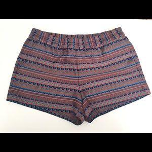 👗 J. Crew Aztec Print Shorts